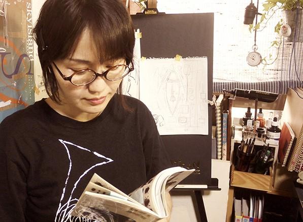 益田由二  アーティストインタビュー